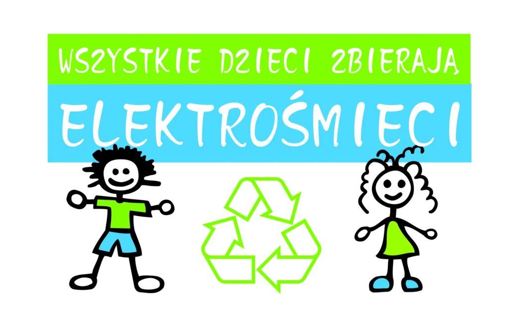 logo programu wszystkie dzieci zbierają elektrośmieci